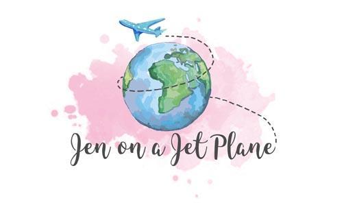 Jen on a Jet Plane Logo