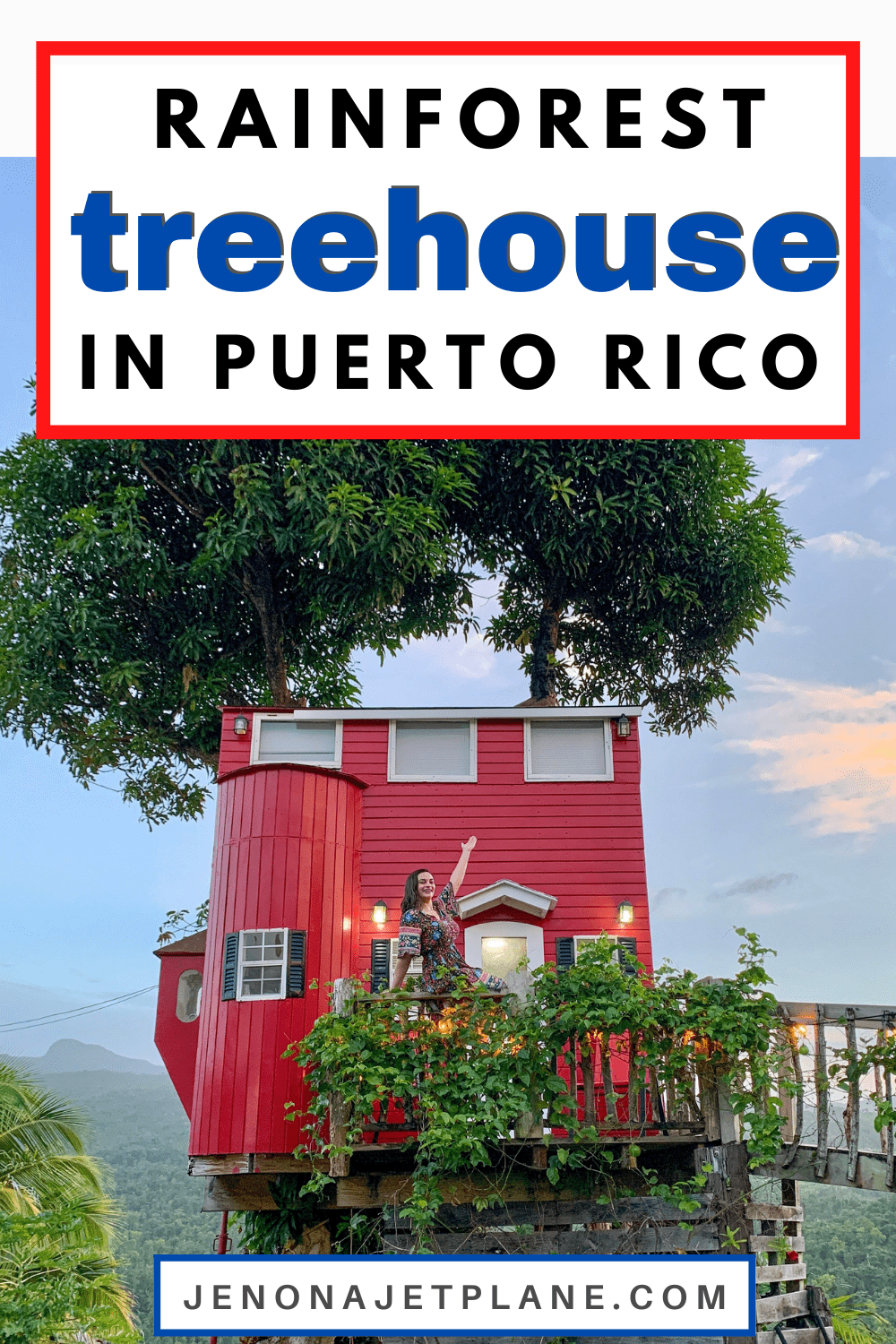 El Yunque View Treehouse in Puerto Rico