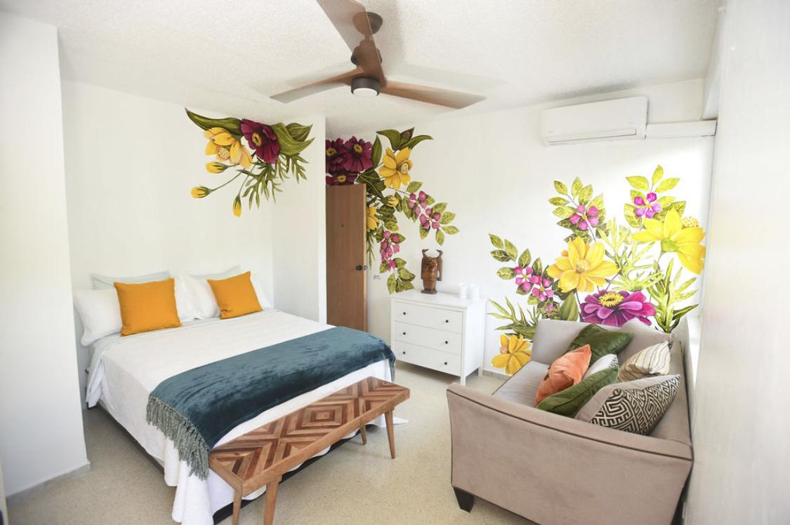 Butterfly room at Casa Alternavida