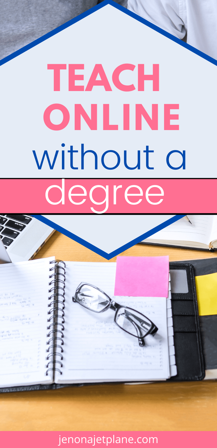 Want to teach online but don't have a college degree? Here's how you can bypass those requirements and get your side hustle on.