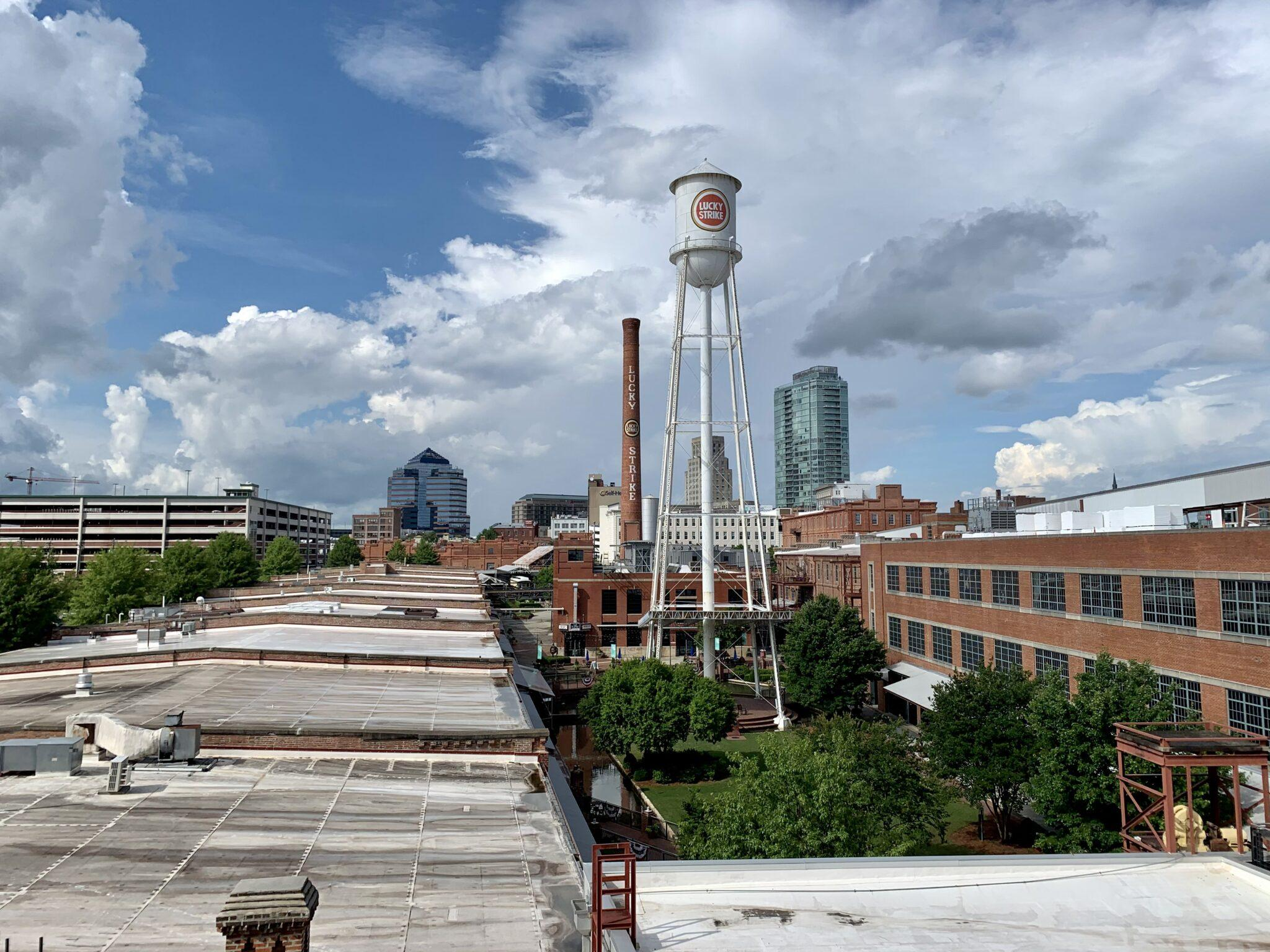 View of downtown Durham
