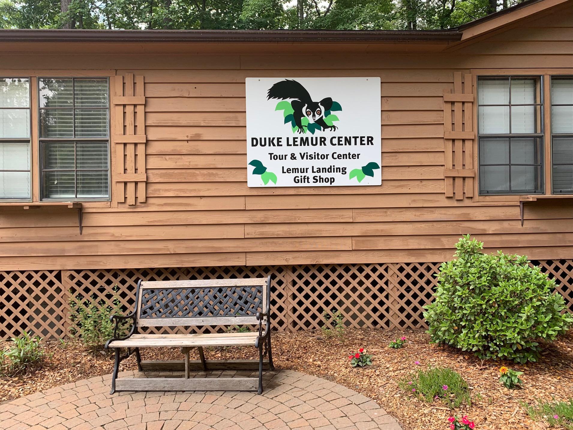 Entrance to the Duke Lemur Center