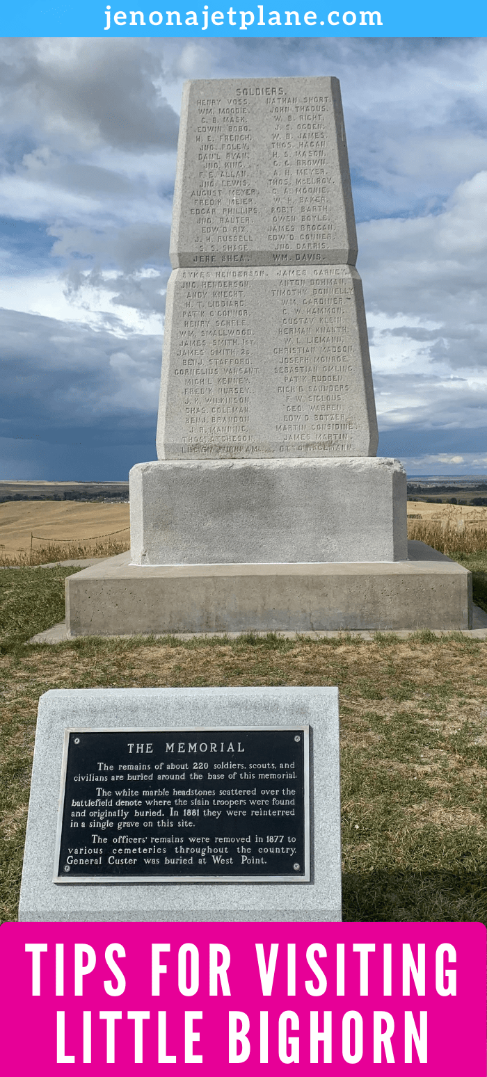 Memorial at Little Bighorn